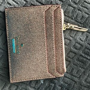 Kate Spade slim keychain and credit card wallet